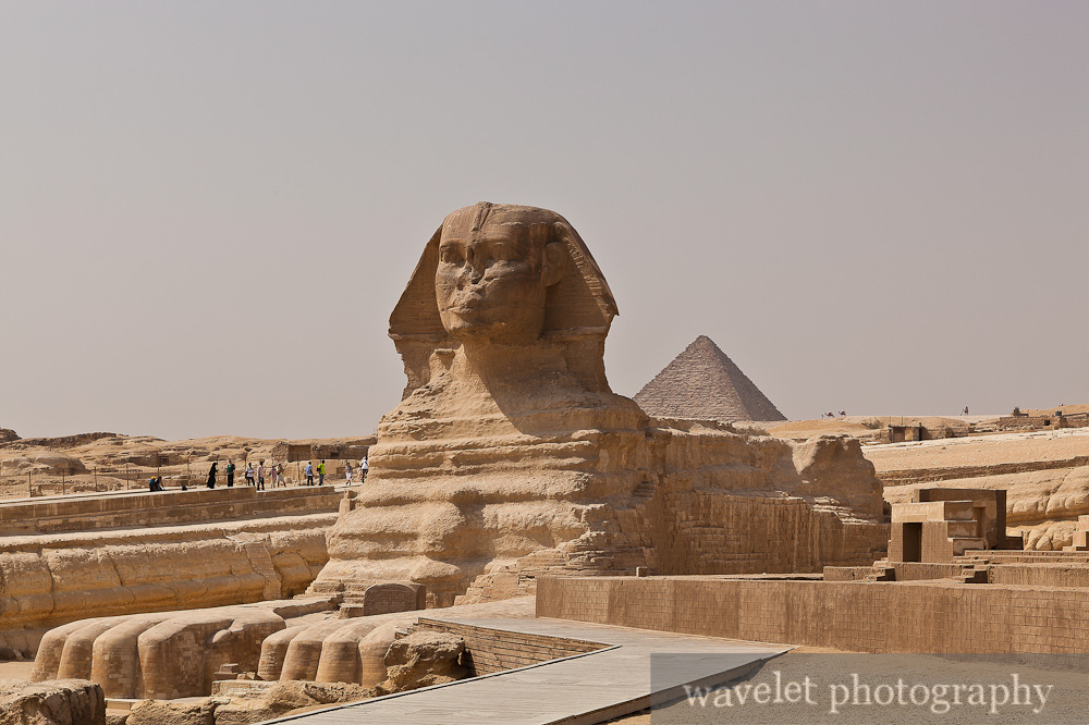 The Sphinx and Pyramid of Menkaure