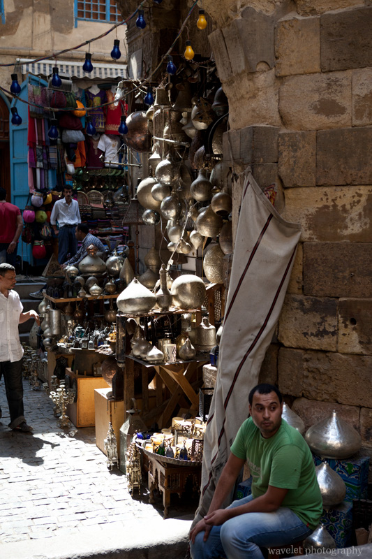 Brass on Sale in Khan al-Khalili