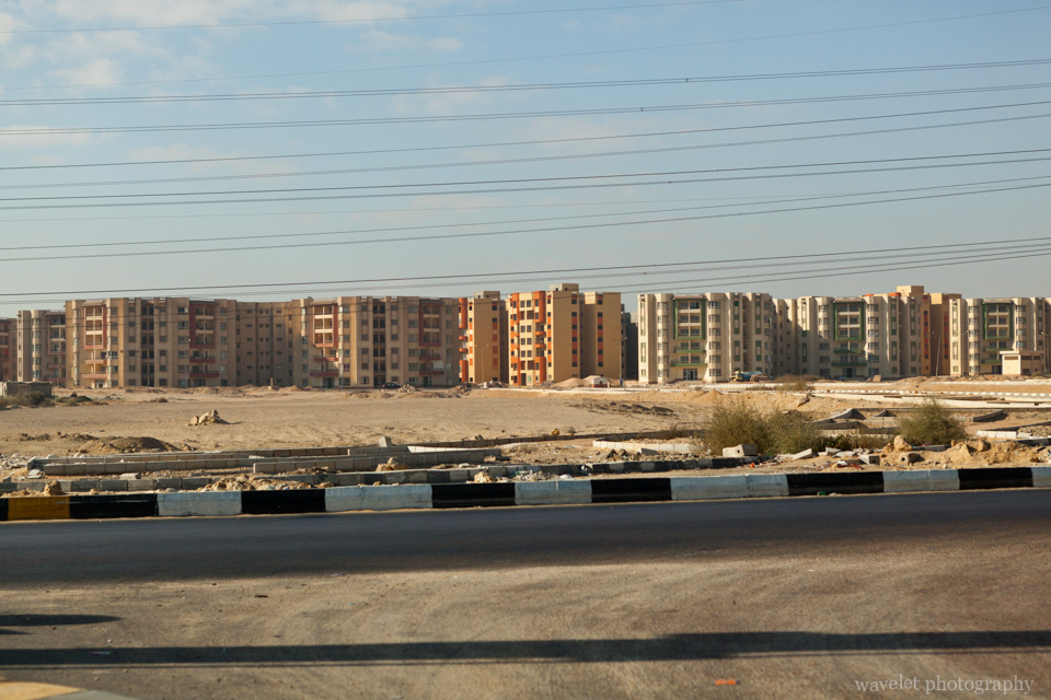 New Residential Buildings in Cairo Suburban