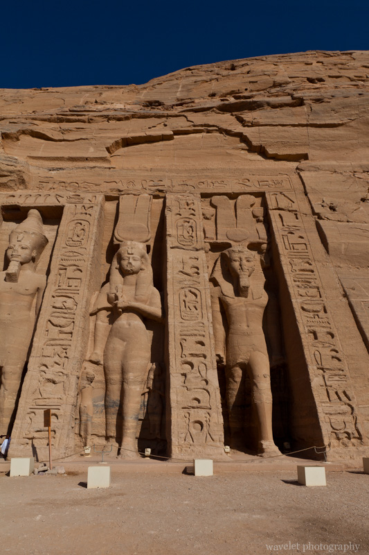 Temple of Hathor in Abu Simbel