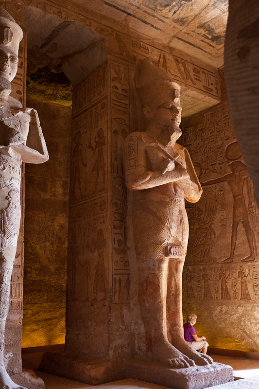 Hypostyle Hall in the Great Temple