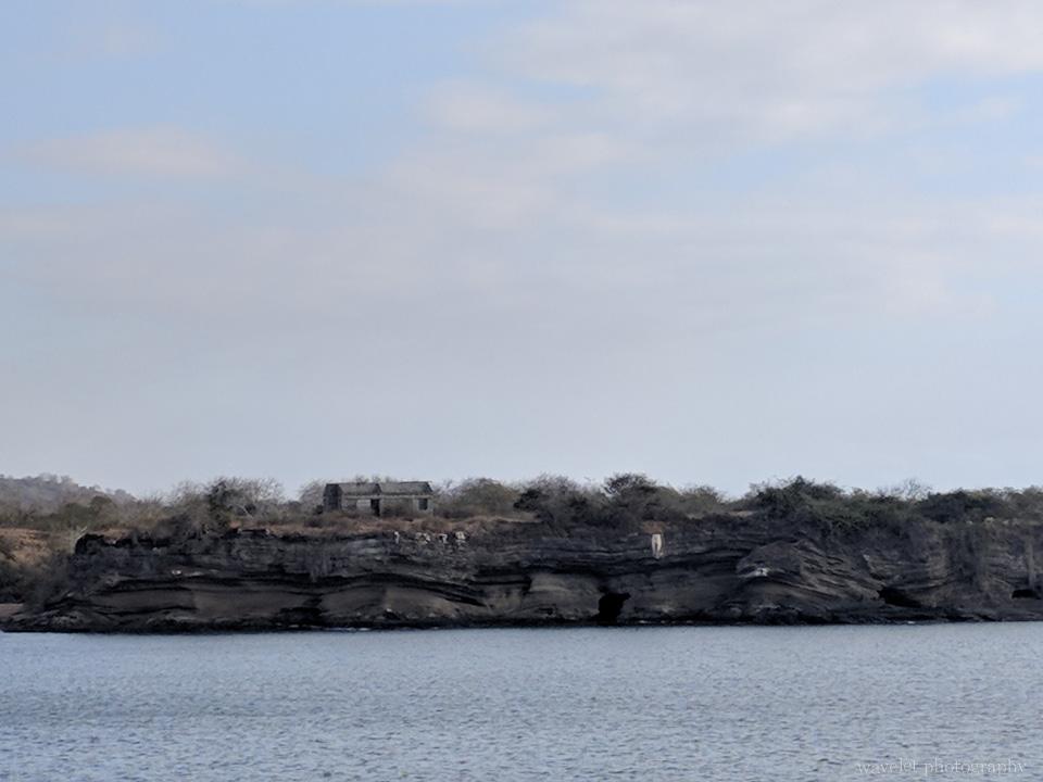 Abandoned constructions at Puerto Egas, Santiago Island