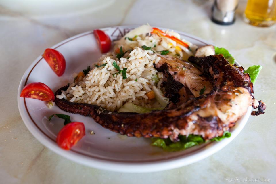 Lunch, Santorini