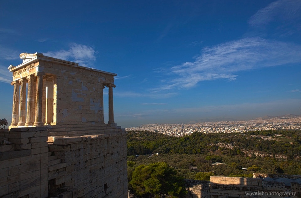 Temple of Wingless Victory, Acropolis, Athens