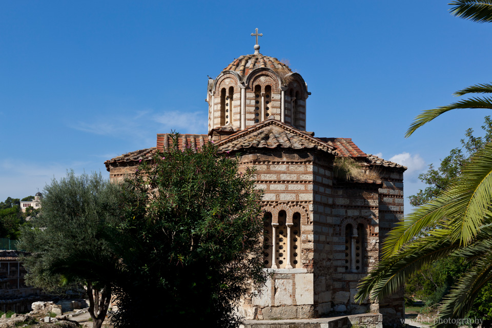 Church in Byzantine Style in the Agora, Athens