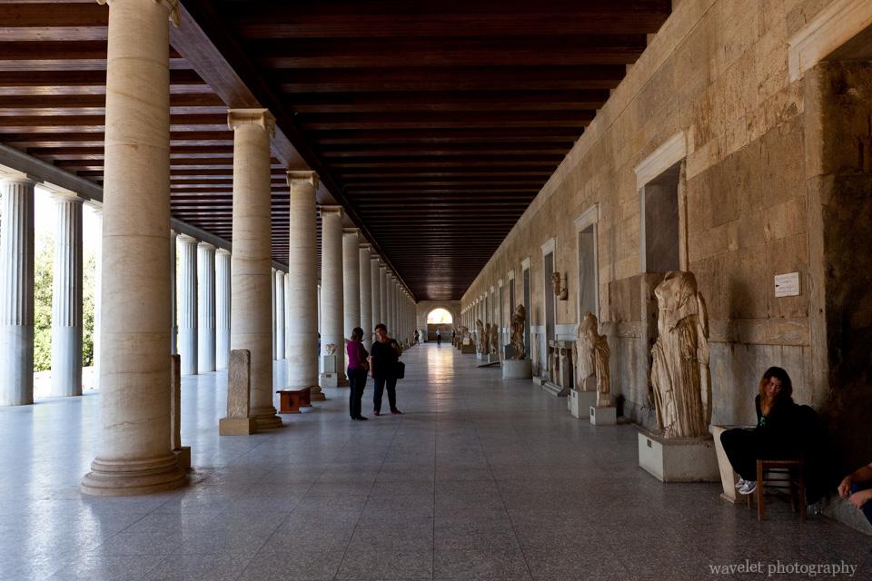 Stoa of Attalos in the Agora, Athens