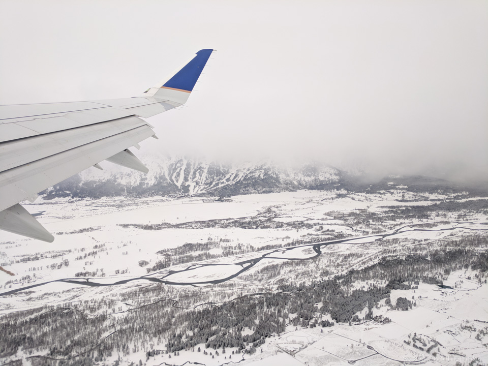 Leaving Jackson Hole
