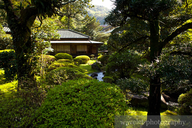 A Japanese Garden in Hakone-Yumoto (箱根湯本)