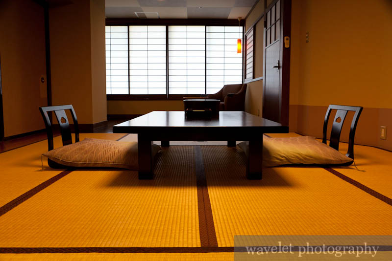 A Japanese Style Room in Hotel Okada