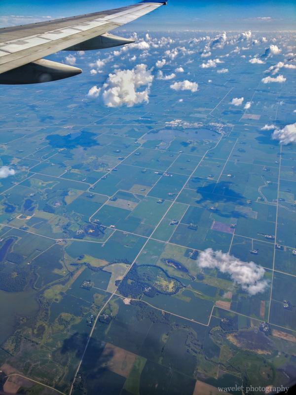 Farm fields near Minneapolis