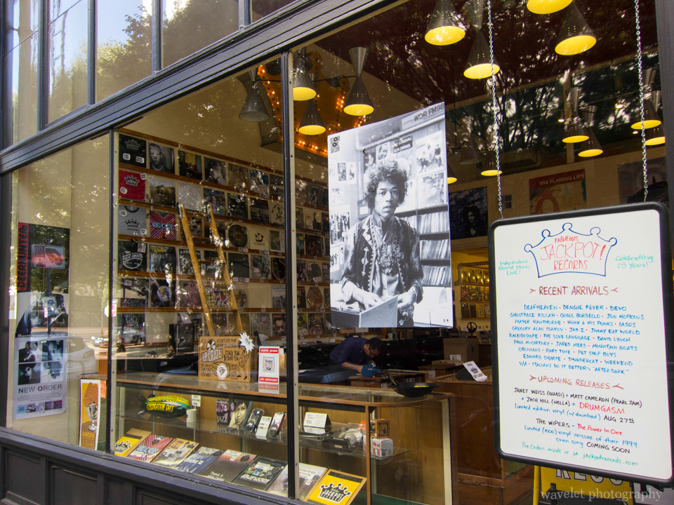 Jackpot Records, Downtown Portland, OR
