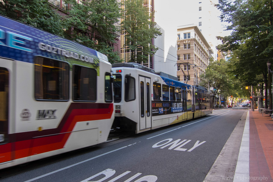 Light Rail, Downtown Portland, OR