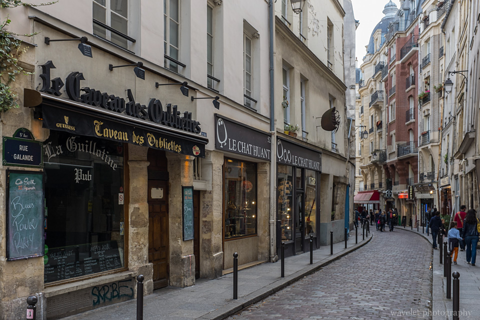 Rue Galande, Latin Quarter, Paris