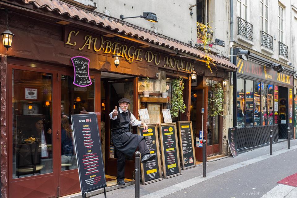 Rue de la Huchette, Latin Quarter, Paris