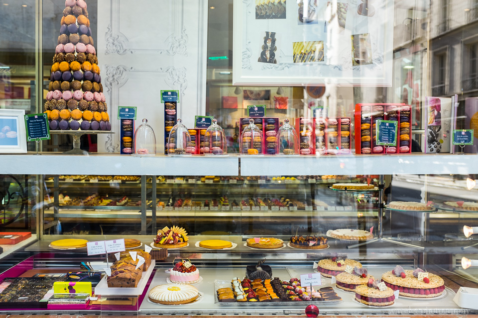 Pastry store near Marché Saint-Germain, Paris