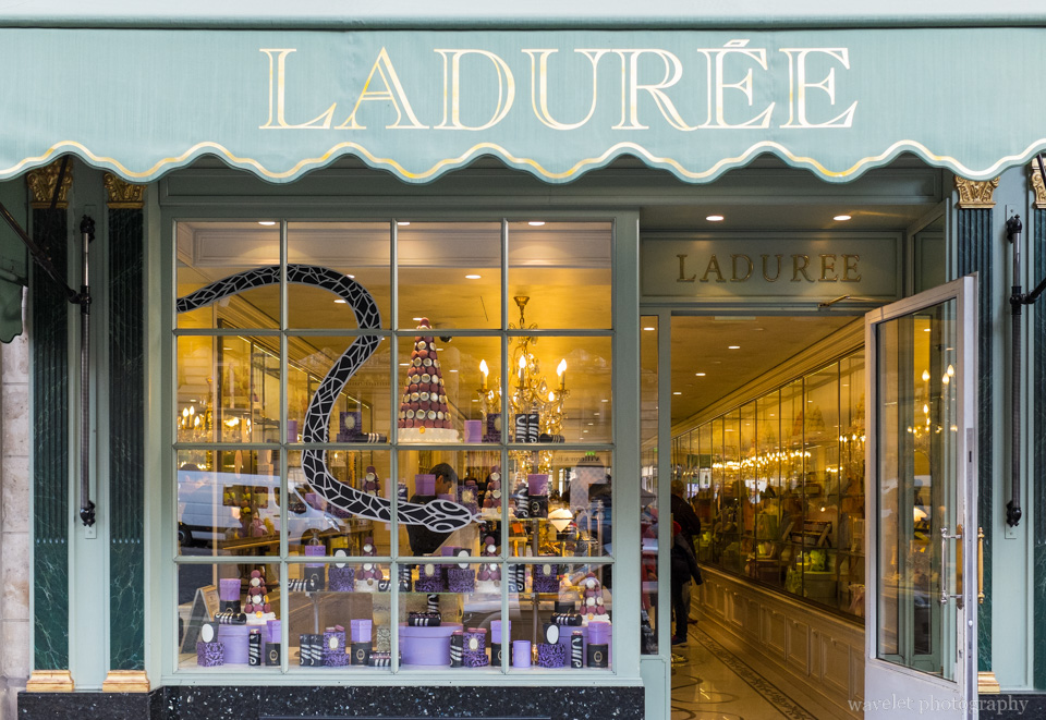 Laduree at Rue Royale, Paris
