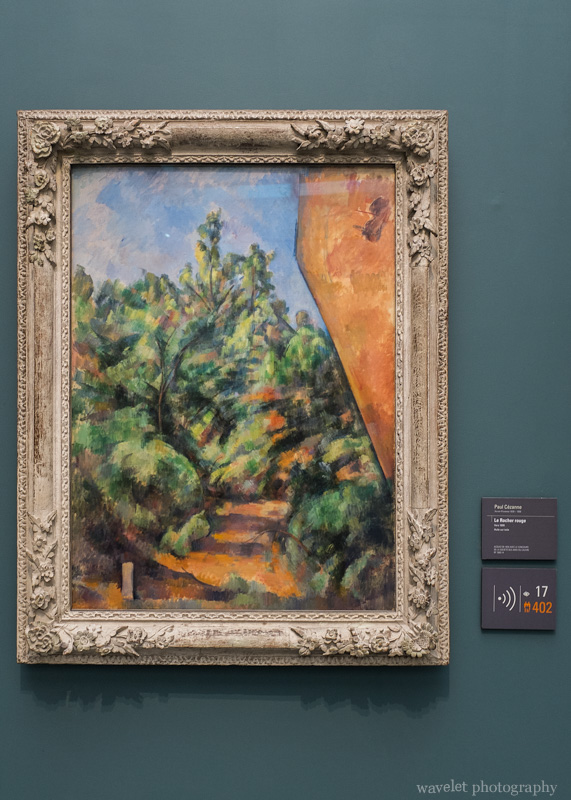 A painting by Paul Cézanne, Musée de l\'Orangerie, Paris