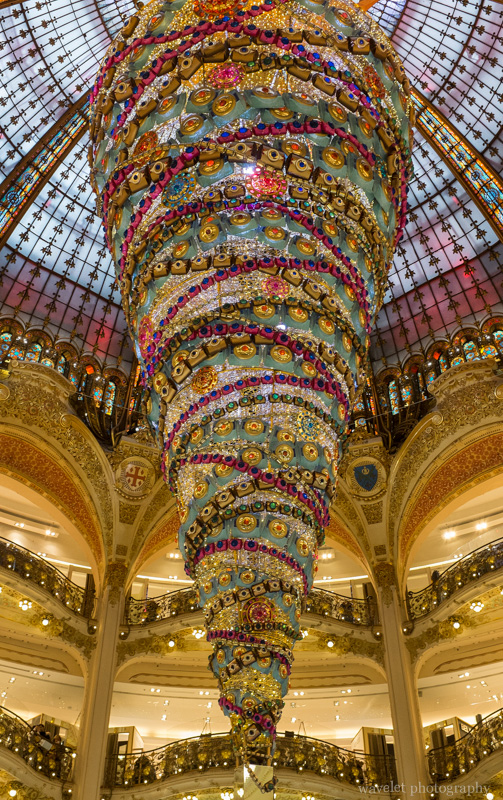 Galeries Lafayette interior, Paris