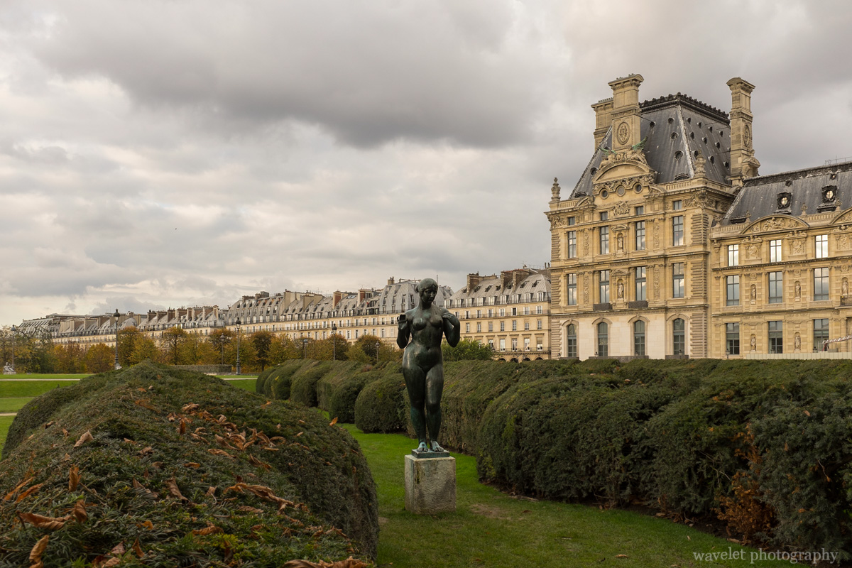 Pavillon de Marsan and Jardin du Carrousel of Jardin des Tuileries, Paris