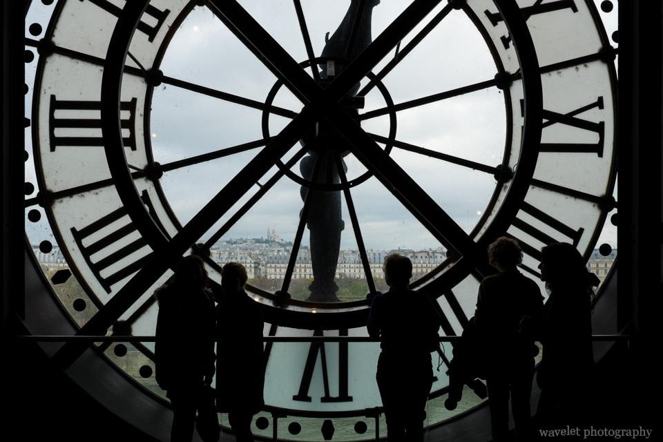 The clock of the Musée d'Orsay, Paris