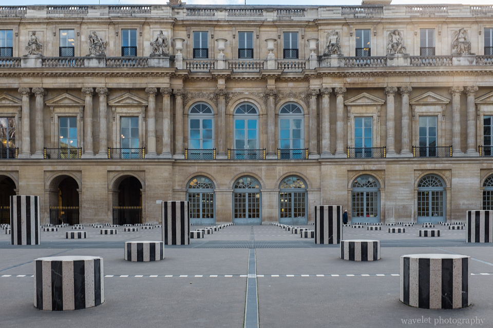 Cour d'Honneur in Palais Royal, Paris