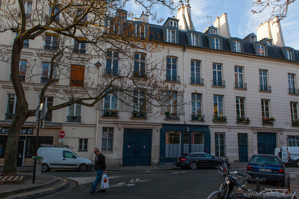 Place Emmanuel Levinas near Panthéon, Latin Quarter, Paris