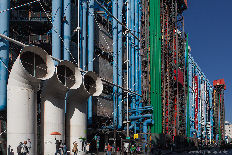 Le Centre Pompidou, Paris