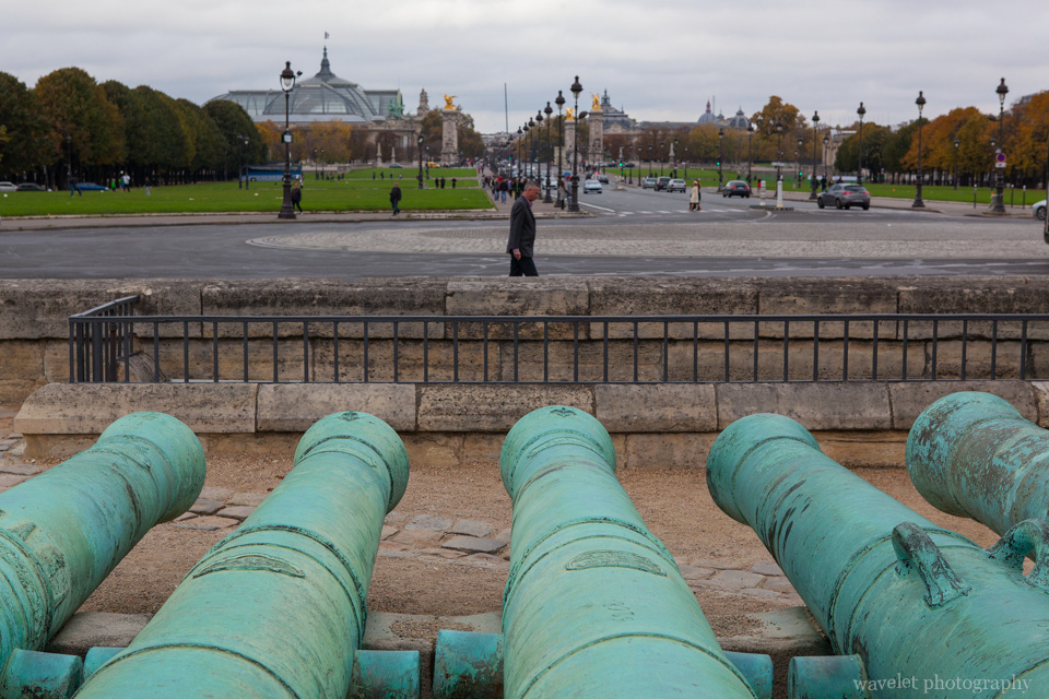The cannons of Les Invalides, Paris