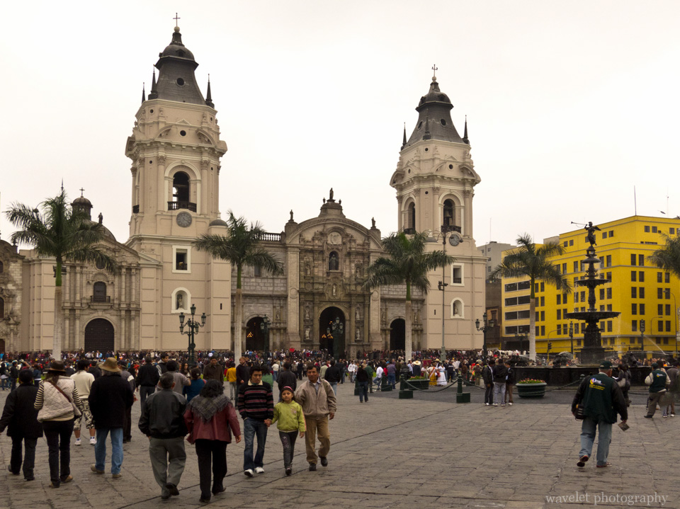 La Catedral, Plaza Mayor, Lima