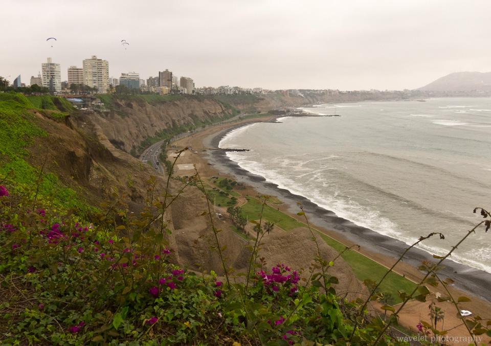 Miraflores Clifftops, Lima