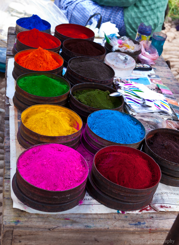 Pigments, Písac Market
