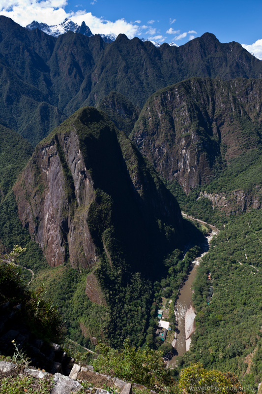 Peaks that Drop to Urubamba River