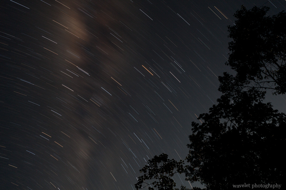 Star Trail of the Southern Hemisphere Sky
