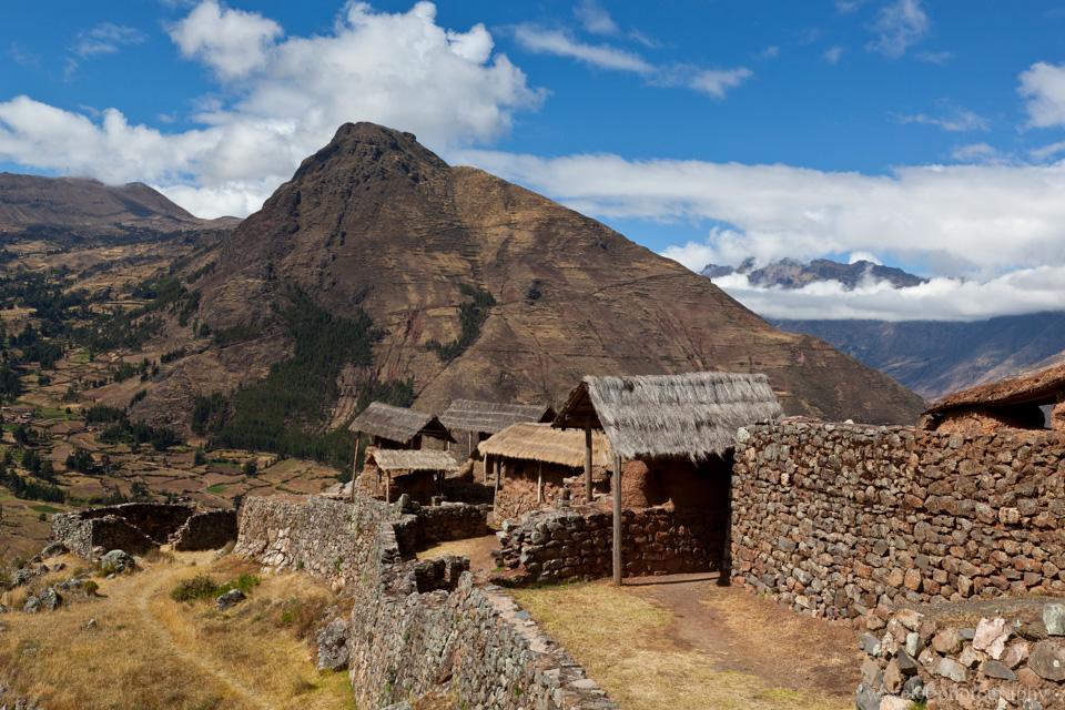 Inca settlements in Písac ruins