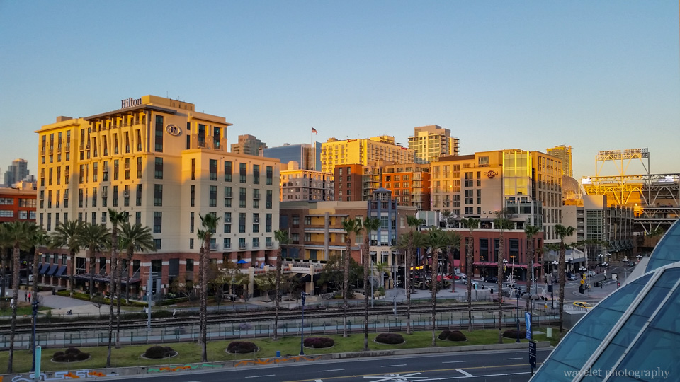 San Diego Downtown, from San Diego Convention Center