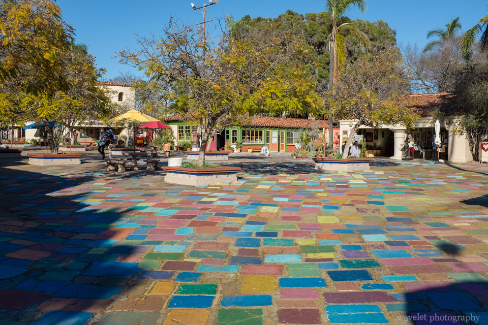 Spanish Village Art Center, San Diego
