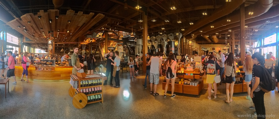 Starbucks Reserve Roastery & Tasting Room, Seattle