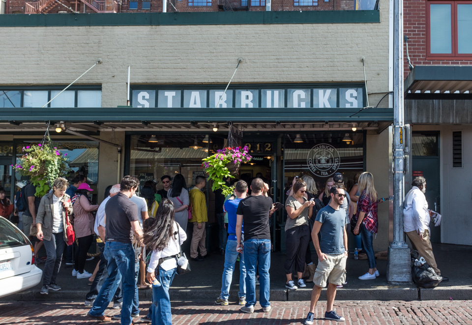 First Starbucks, Seattle