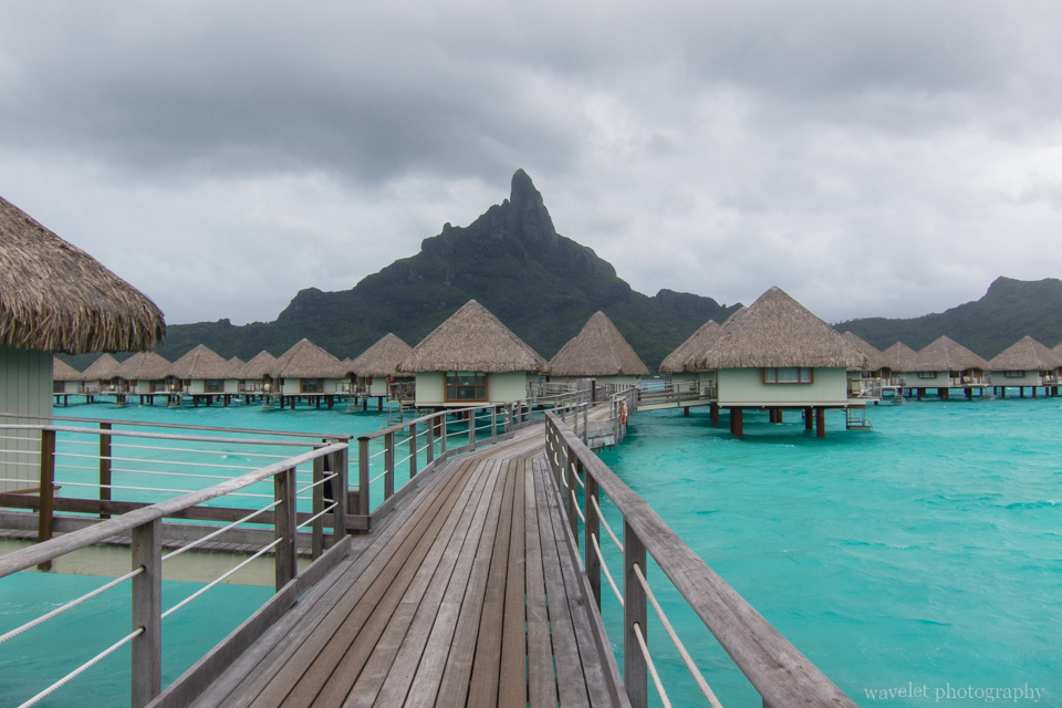 The signature view of Mount Otemanu, Bora Bora
