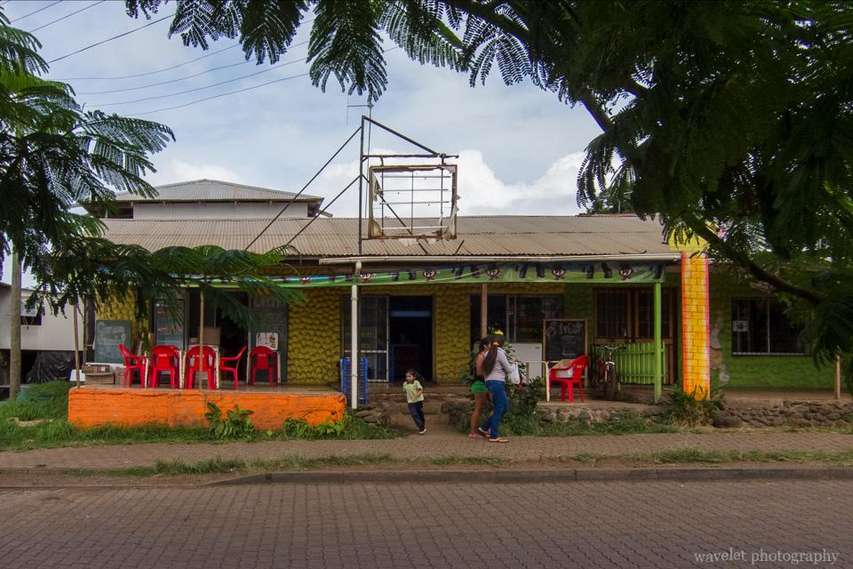 A grocery store in Hanga Roa, Easter Island