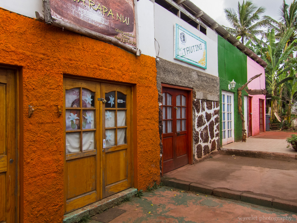 Shops in Hanga Roa, Easter Island