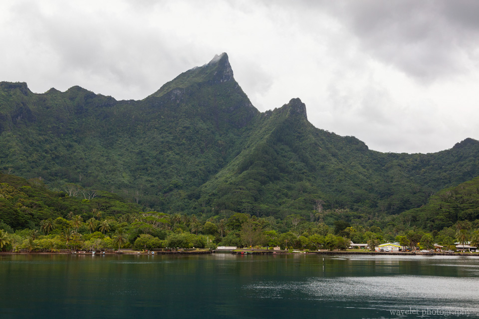 Near Moorea ferry port