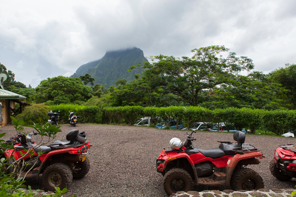 Agricultural College at Opunohu, Moorea ATV Tour