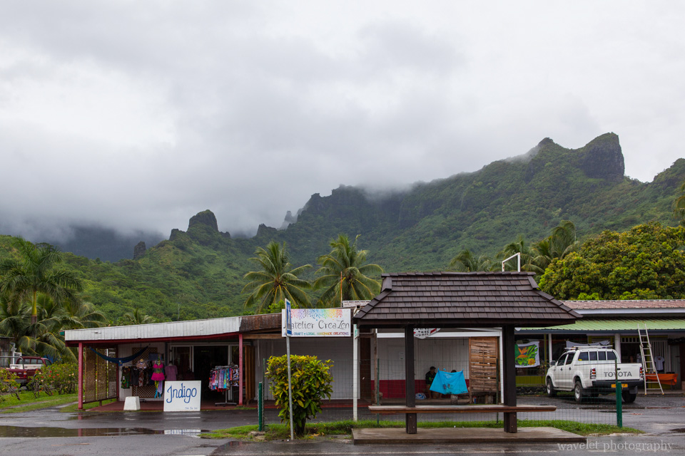 The Market near Pearl Resort, Moorea