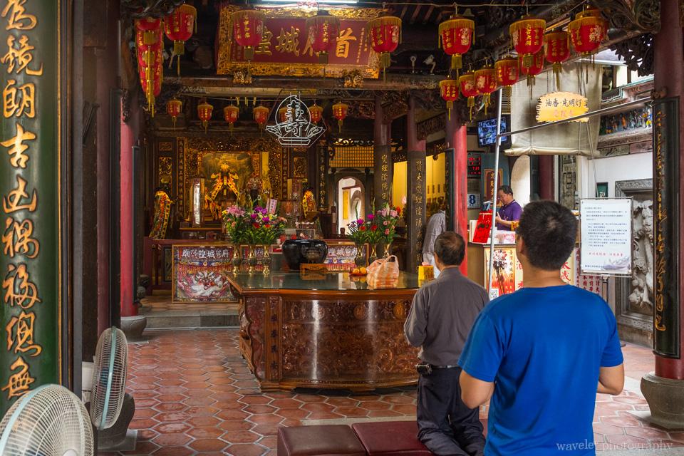 城隍廟,台南