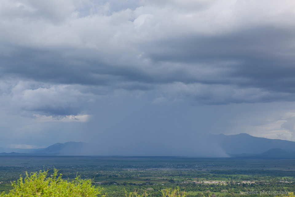 Thunderstorm near Lake Manyara National Park