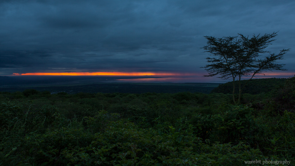 Sunrise over Lake Manyara