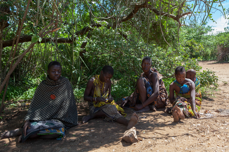 Hadzabe Bushmen Tribe, near Lake Eyasi