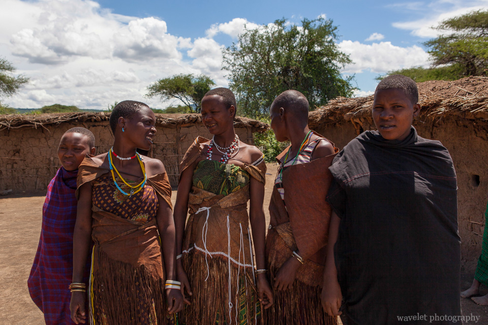 A family of Datoga Tribe, near Lake Eyasi