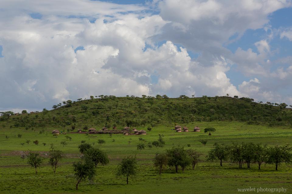 Maasai\'s village, near Arusha